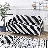 Fundas de sofá con Estampado Floral Fundas de Esquina de sofá seccionales elásticas Fundas de sofá Fundas para Muebles Sillones A32 2 plazas