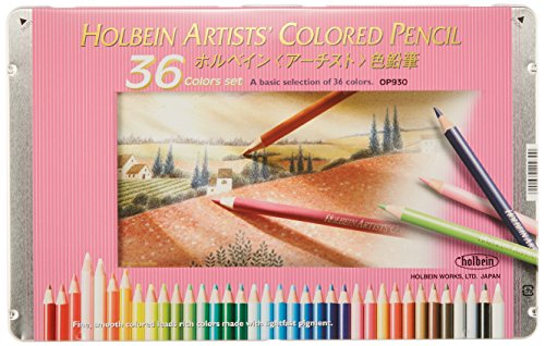 36 color pencil set Holbein (japan import)