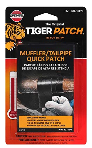 Versachem Tiger Patch Muffler & TAILPIPE WRAP - 2 INCH X 36 INCH