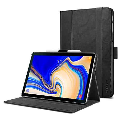 Spigen Stand Folio (Version 2) Designed For Samsung Galaxy Tab S4 Case - Black