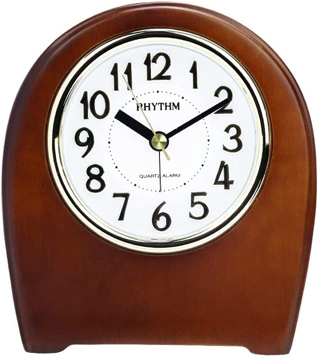 UXZDX Oklahoma City Mall Desk Clock Classic Solid Funct with Wood Retro Discount is also underway Alarm