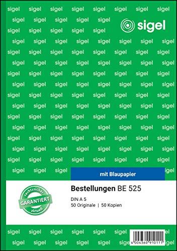 Sigel Formularbuch - Recibos (2 x 50 hojas A5)