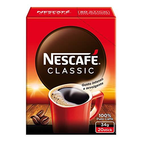 NESCAFÉ CLASSIC Caffè Solubile Astuccio, 1x20 Bustine