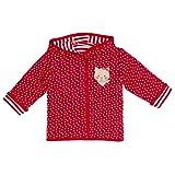 Salt & Pepper Baby-Mdchen BG Jacket Allover reves. Jacke, Rot (Cherry Red 352), 62