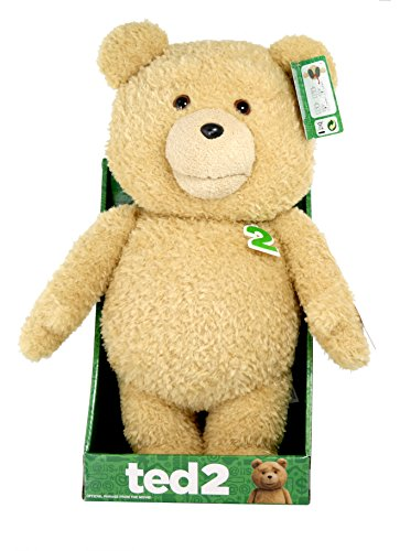 Ted 2 Talking Teddy Bear Explicit Plush Doll with Sound, 16'