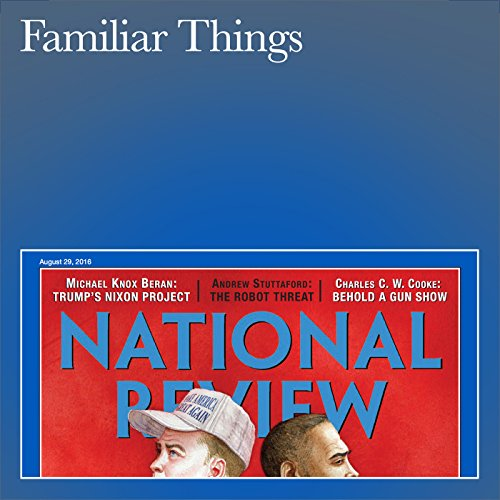 Familiar Things audiobook cover art