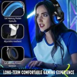 Zoom IMG-2 iporachx cuffie gaming over ear