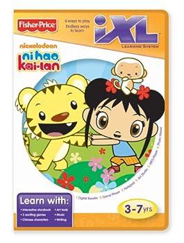 Fisher-Price iXL Learning System Software Ni Hao Kai-lan