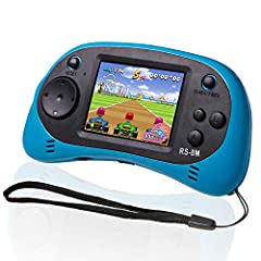 ☛RS-8M with 200 Games:The handheld game console has 200 no violence kids games ,the games can be played never repetition, bring you back to the fun of childhood. ☛Portable&Travel Mini Arcade:This lightweight hand held game player is very easy to carr...