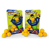Monkey Business Sports FoamStrike X3 Slingshot for Kids- Share The Fun and Excitement with Handy Two Pack and 12 Extra Balls- Sturdy Toy Slingshot Brings Hours of Healthy Exercise Indoor or Outside