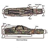 Soytich Bolsa para caña de pescar de 150 cm (bolsa de 58 W)