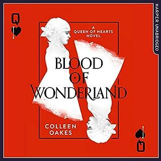 Blood of Wonderland audiobook cover art