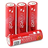 enevolt(エネボルト) 単3形充電池 2150mAh ニッケル水素充電池 単3 充電池 使用開始記入欄 リニューアル版 3R SYSTEMS 4本セット