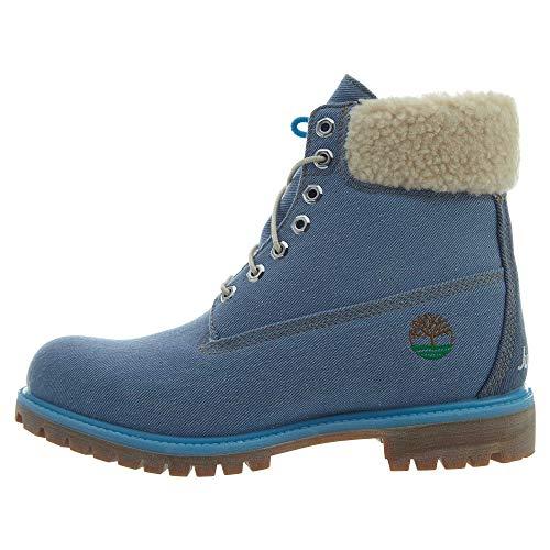 Timberland 6' Premium Fabric Boot Blue 8