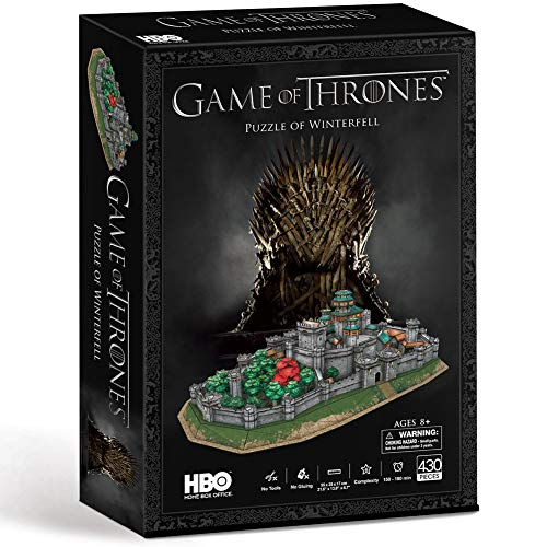 Paul Lamond- Game of Thrones Winterfell 3D Puzzle Trono di Spade, Multicolore, 7455