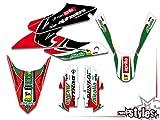 Adhesivo decorativo Italian race-styles compatible con Aprilia SX 125 2018 | Decals Dekor Graphics
