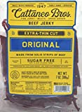 Cattaneo Bros. - Extra-Thin Cut Natural Beef Jerky, 7 Ounce (Original)