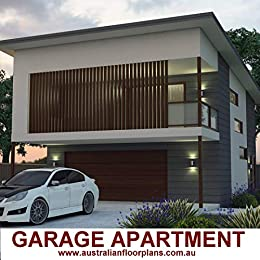 Amazon.com: Garage Apartment 2 Bedroom house plan-Carriage ...
