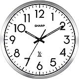 Atomic Analog Wall Clock - 14' - Sets Automatically