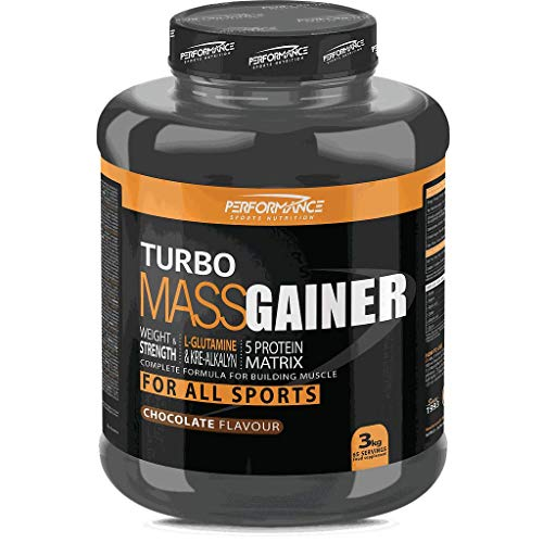 Performance Sports Nutrition - Turbo Mass Gainer (Vanilla - 1000 gram)
