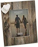 Juliana Collection Juliana Two Hearts Wooden Photo Frame 5x7'