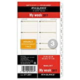 Day Runner Weekly Planner Refill 2017, 3-3/4 x 6-3/4', Size 3 (471-285Y)