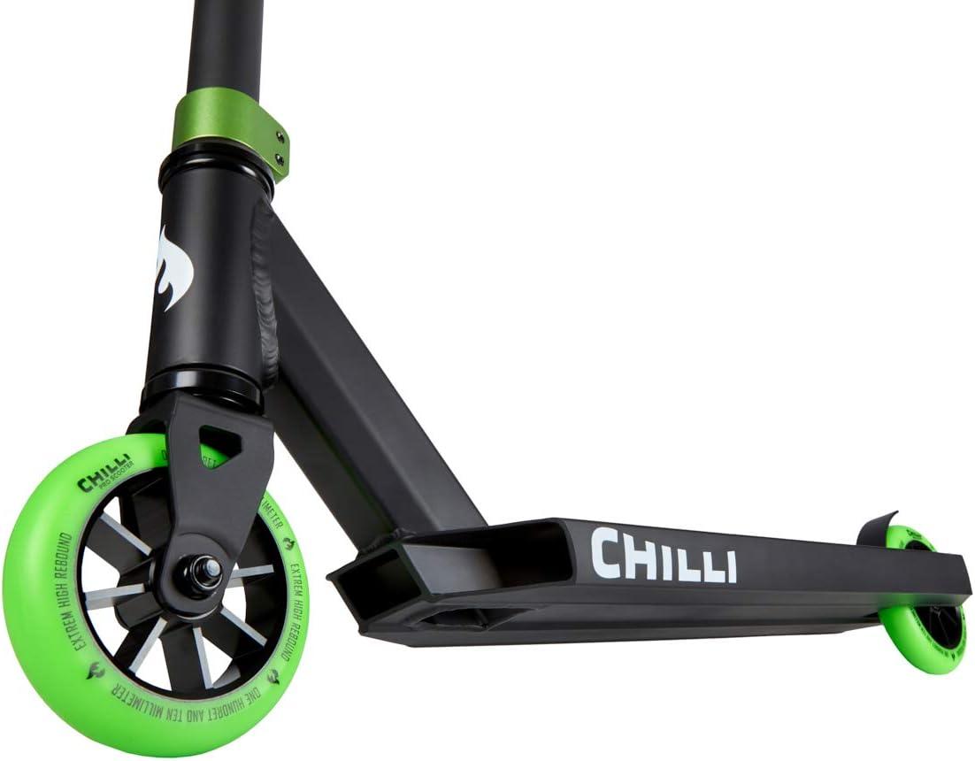 Chilli Pro Scooter Patinete de acrobacias H=82 cm Trick Tret Roller + pegatina Fantic26