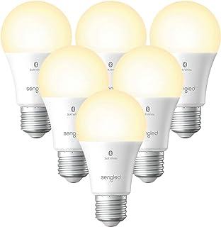 Sengled Smart Light Bulbs, Alexa Light Bulb Bluetooth Mesh, Smart Bulbs That Work with Alexa Only, Dimmable LED Bulb E26 A...