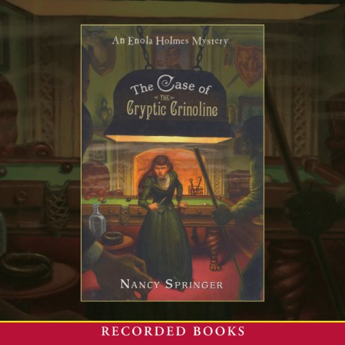 The Case of the Cryptic Crinoline audiobook cover art