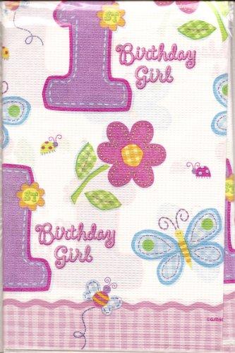 Amscan Nappe d'anniversaire pour Petite Fille (1 an)