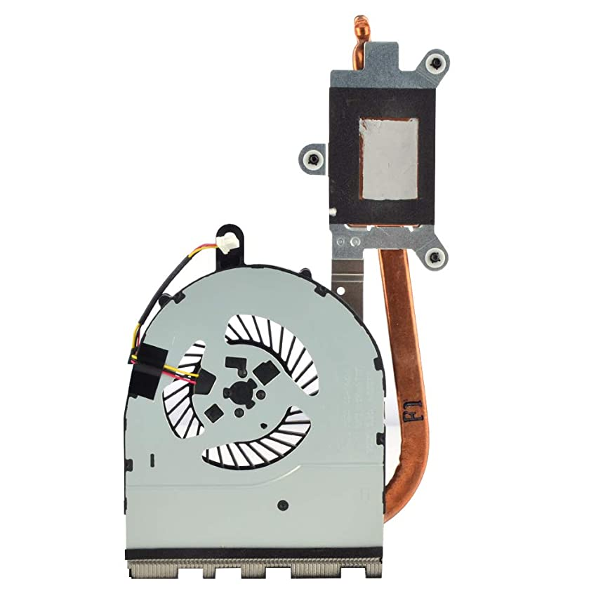 Eathtek Replacement CPU Cooling Fan with Heatsink for Dell Inspiron 15-5559 17-5758 Series, Compatible Part Number 0FXH0F