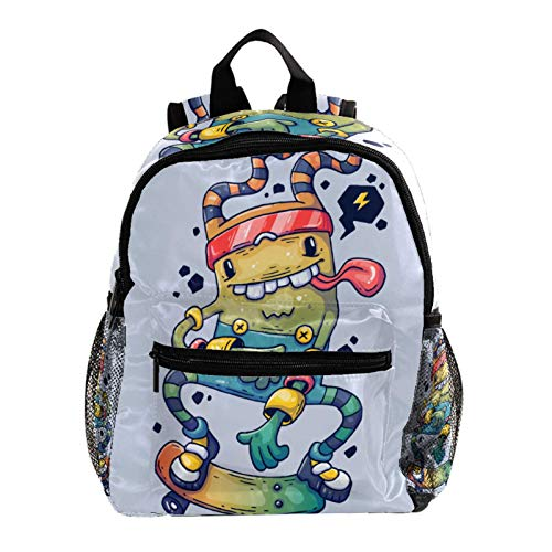 Backpack for Boys and Girls,Toddler Kids Personalized Preschool Backpack for Kindergarten Children Lightweight Daypack Cute Characters