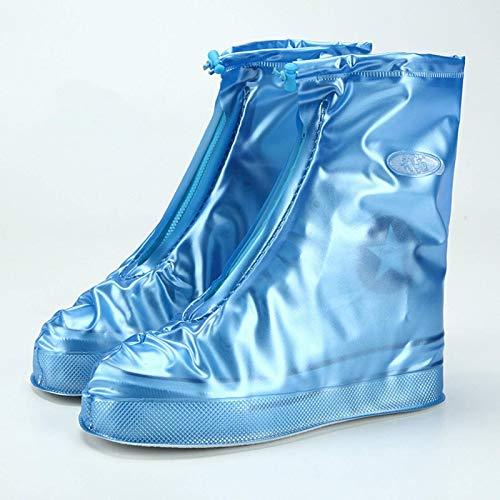 N-B Cubrezapatos de Lluvia de PVC, Fundas antiincrustantes y a Prueba de Polvo para Hombres y Mujeres, Zapatos de protección, cubrezapatos Reutilizables y Accesorios para Botas
