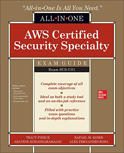 AWS Certified Security Specialty All-in-One Exam Guide (Exam SCS-C01) Front Cover