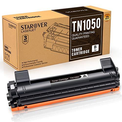 STAROVER Cartucce Toner Compatibili per TN1050 TN-1050 per Brother HL-1110 DCP-1510 HL-1210W DCP-1610W HL-1112 MFC-1810 HL-1212W MFC-1910W DCP-1612W DCP-1512