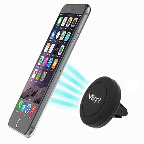 Phone Holder, Vilight Magnetic Car Mount for Cellphone Like Galaxy S7 S6 S5 S4, LG G4 V10, iPhone 5 5s 5c 6 6Plus 6s 6splus - Standard