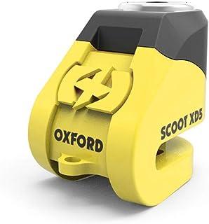 Oxford LK260 XD5 disc Lock Geel & Zwart, Geel, Medium