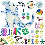 Tawohi 42 pcs Fidget Toys Set, Sensory Toys Set, Autism Special Needs Stress Relief Hand Toys Therapy Toys for ADHD Autism, Barato Fidget Pack para niños y Adultos
