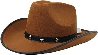 6 x Star con borchie cappelli cowboy Wild West TRAMPAS Western Cowgirl Costume