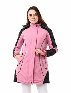 Andora Side Pockets Front Zip Hooded Jacket for Women