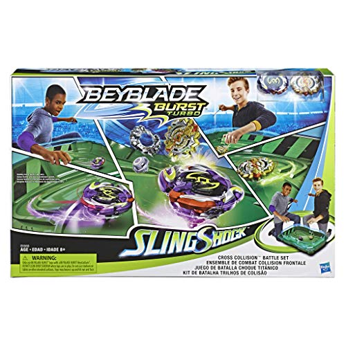 Hasbro - Bey Cross Collision Battle Set...