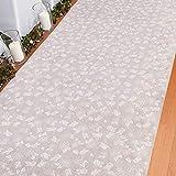 Rose Print Wedding Aisle Runner (100 feet Long) Wedding Decor