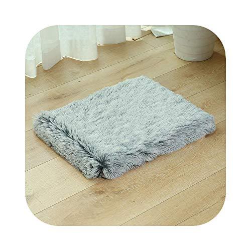 Cojín para perro, forro polar, cama de perro, manta suave, gato, chihuahua, sofá, alfombra para perros grandes – 100 x 60 x 10 cm