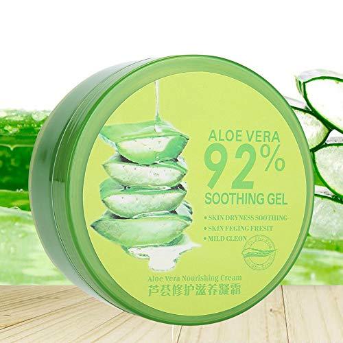 Hidratante Gel de Aloe Vera, Hidratante Natural Hidratante Nutritivo Gel de Aloe Vera Tratamiento del acné Crema para el cuidado de la piel con crema