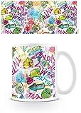 Angry Birds 1art1 Neon Tazza da caffè Mug (9 x 8cm)