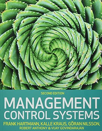 Management control systems (Economia e discipline aziendali)