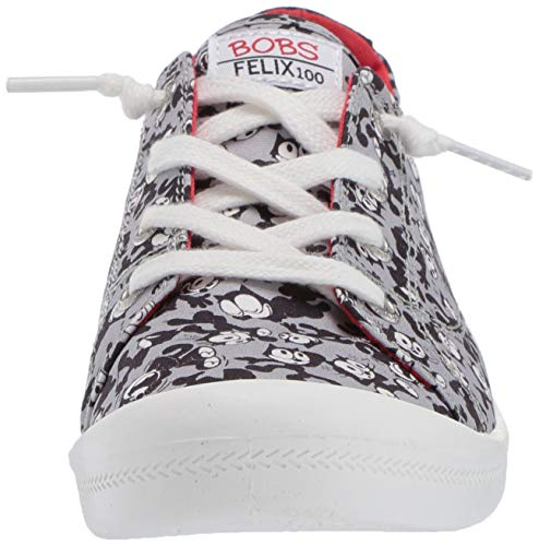Skechers Women's Beach Bingo-Felix The Cat Moods Sneaker