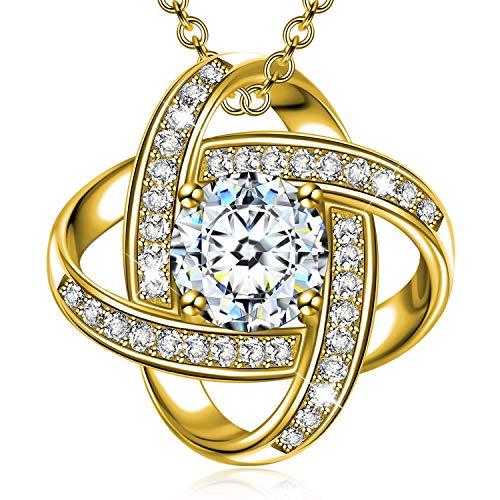 Alex Perry Geschenke für ihre Mutter Mutter Gold Halskette für Frauen Silber Anhänger für Mädchen Valentinstag Geschenke für Mädchen Muttertag Personalisierte Geschenke Geburtstag Schmuck