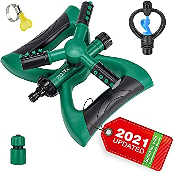 711TEK Garden Sprinkler Automatic Lawn Sprinkler