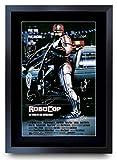 HWC Trading A3 El Casting Vie Robocop Peter Weller Y Nancy Todo Impreso De Regalo para La Imagen De Películas Pósteres Aficionados De Regalo - A3 Enmarcada